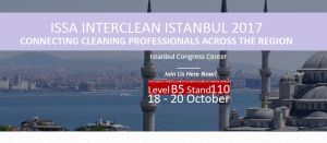 CM2W is presenting in ISSA Interclean Istanbul 2017