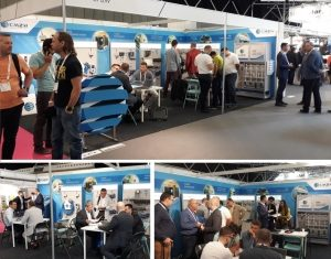CM2W successfully presents at INTERCLEAN Amsterdam 2018
