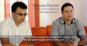 Nikolae Roman – Co-Founder and Managing Director, Total Horeca Romania shares the experience with CM2W: