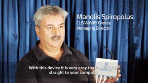 Manolis Spiropolus - Managing Director, CLEANWAY Greece.